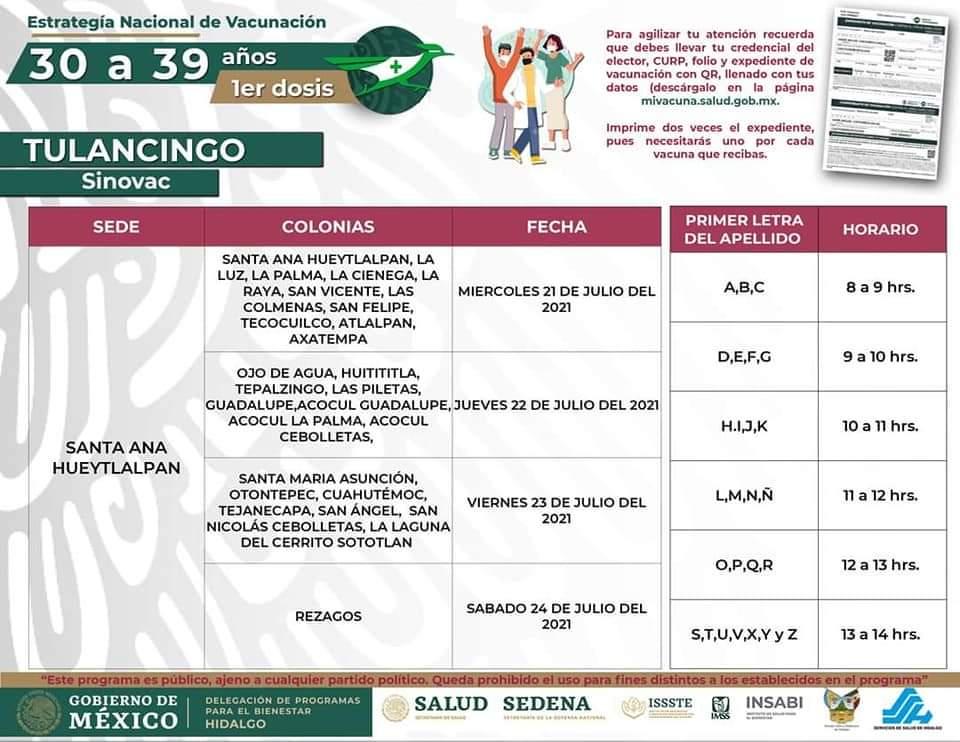 vacunacion covid tulancingo noticiastulancingo.com